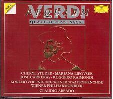 Verdi: Requiem / Claudio Abbado, Studer, Carreras, Raimondi, Lipovsek - CD