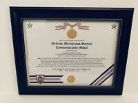 Military Commemorative ~ DEFENSE MERITORIOUS SERVICE MEDAL COMMEMORATIVE