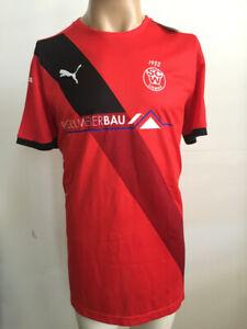 PUMA Men Final short-sleeved shirt, Red-White, Liemke 3, XL