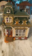 Dept 56 Halloween 1998 Haunted Mansion with a set of replacement lights