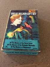 Trixie Belden Gift Set # 29 30 31 Box Set Scarce