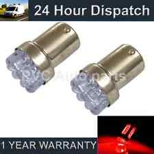 2X 207 1156 BA15s P21W XENON RED 8 DOME LED SIDELIGHT SIDE LIGHT BULBS SL200701