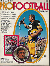1971 PACKERS Bart Starr signed Pro Football magazine JSA COA AUTO Autographed