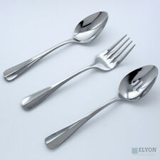 Oneida Savor 3 Piece High Quality Stainless Steel Flatware Serving Set
