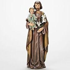 """Joseph's Studio 18""""St. Joseph with Baby Jesus Indoor Outdoor Garden Statue 68118"""