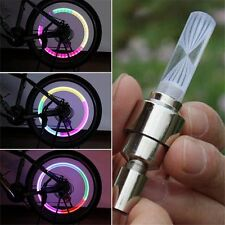 New Bicycle LED Flash Lights Lamp Bike Car Tire Wheel Valve Cap Tire Decoration