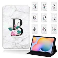 26 Letters Stand Leather Cover Case For Samsung Galaxy Tab S/S2/S3/S4/S5e/S6/S7