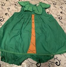 Girls Dress With Underpants Green 24m