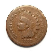 1877 Indian Head Cent G/AG Details KEY Date