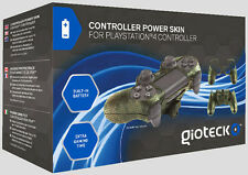 GIOTECK Controller Power Protective Skin + Extra Battery Pack PS4 GIOTECK