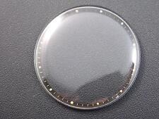 Black Radium Tension Ring Mens 30.10mm Mido Vintage Watch Crystal New Old Stock