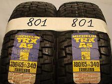 2 Stk x Sommerreifen Michelin TRX AS   180/65 R340, 82H,V-1,Radial-X, Neu.