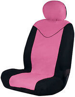Sumex Unicorn Universal Single Padded Foam Front Car Seat Cover in Pink & Black