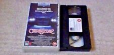 CHRISTINE RCA COLUMBIA UK VHS PAL VIDEO 1989 The Hollywood Horror Collection