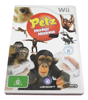 Petz Monkey Madness Nintendo Wii PAL *Complete* Wii U Compatible