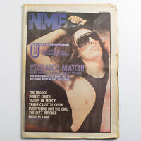 NME magazine 26 May 1984 Dead or Alive Pete Burns cover The Troggs