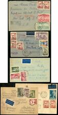 Poland 1946-8, 14 covers and a card to Children's Relief Commission in New York