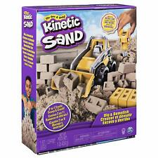 Kinetic Sand Dig & Demolish Truck Playset Crush Dig & Scoop Never Dries Out NEW