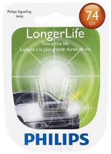 Instrument Panel Light Bulb-LongerLife - Twin Blister Pack PHILIPS 74LLB2
