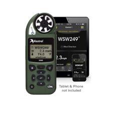 Kestrel 5500 Weather Meter w/ LiNK - Bluetooth, Vane Mount & Case - OD GREEN