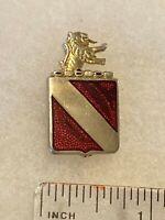 Authentic US Army 34th Field Artillery Regiment DI DUI Crest Insignia P