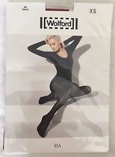 Wolford Womens Ria Tights Holly Berry Size X Small Style 14442