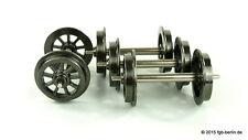 Bachmann Liliput 999304 Speichen Metallradsatz Ø31 mm 4 Achsen für LGB Spur G
