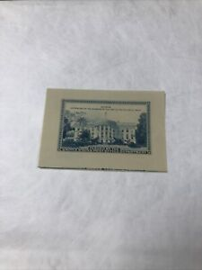 1939 Philatelic Truck Souvenir Sheet No Gum With Guideline SCARCE Mint No Hinged