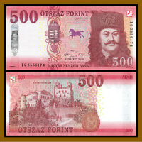 Hungary 500 Forint, 2018 (2019) P-New Unc