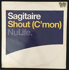 VINYL - SAGITAIRE SHOUT ( C'MON) NULIFE