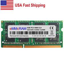 Us 8Gb Pc3-10600 Ddr3 1333Mhz Sodimm Memory Module For Dell Ibm Hp Lenovo Laptop