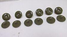 12 Post WW2 British Army Denim Battledress Blouse Tunic Jacket Uniform Buttons