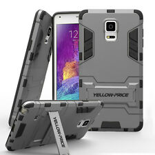 Armor Luxury Iron man Hard Back Soft Rubber Case Cover For Samsung Galaxy Note 4