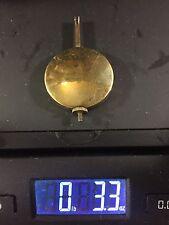 Old Antique Adjustable Clock Pendulum Bob  (3.3 oz) (Lot M514)