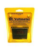 Blue Sea 8049 Digital DC 8 - 28 Voltmeter For 12 & 24 Volt DC Systems