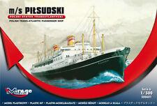 Mirage Hobby 500601 - 1:500 Pol. Trans-Atlantic Pas. Ship Pilsudski