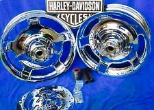 Harley Davidson ROAD KING WHEELS FLHX CHROME AIR STRIKES RIMS WILL FIT 09 - 2017
