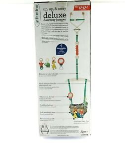 Infantino Deluxe Door Way Jumper Cushioned Support Attaches To Door USA Seller