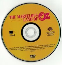 The Marvelous Land of Oz (DVD disc)