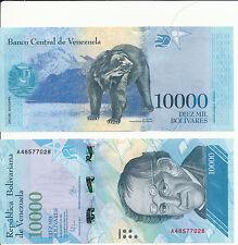 VENEZUELA - 10000 bolivares 2016 (2017) Unc Pick New