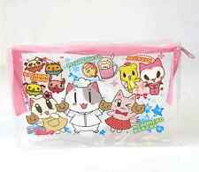US Japanese Magazine Appendix Neko Bakery Cat Cute Kawaii Transparent Pouch bag
