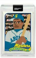 Topps Project 2020 #88 Ken Griffey Jr 1989 Rookie Card By Keith Shore Presale