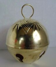 2-3/4 Inch 70mm Gold Jumbo Large Jingle Bell Star top 1 Piece crafts Vintage 80s