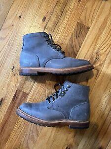 Grant Stone Storm Kudu Diesel Boots Men's Sz 6.5E - with vibram lug sole