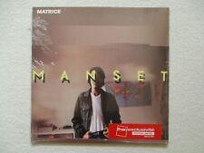 "LP 33T GERARD MANSET ""Matrice"" WHITE VINYL NEUF 2017 /"