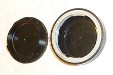 Genuine LEICA rear lens cap and camera body cap