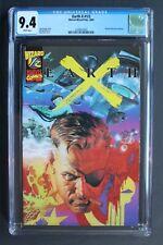 EARTH X Wizard 1/2 Iron Avengers X-MEN Fury X-51 Eternals 2000 ALEX ROSS CGC 9.4