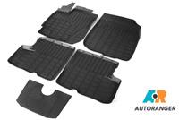Premium passgenaue 3D-Fussmatten mit hohen Kanten für VW Amarok von RIVAL®