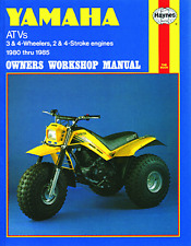1154 Haynes Yamaha ATV 3 & 4 wheelers, 2 & 4 stroke engines (1980 - 1985) Manual