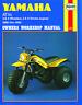 1154 Haynes Yamaha ATV 3 & 4 wheelers, 2 & 4 stroke engines (1980 - 1985) Manual